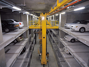AKAPP Multiconductor with automated car parking