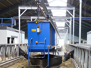 Automatic cattle feed system with AKAPP Multiconductor
