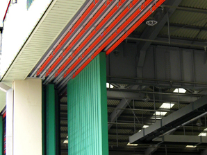 Hangar doors with AKAPP Multiconductor