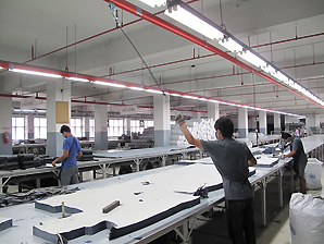 Akapp Multiconductor in textile factory